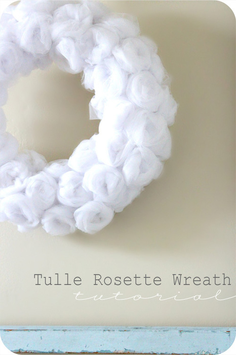 Tulle Rosette Wreath Tutorial (466x700, 82Kb)