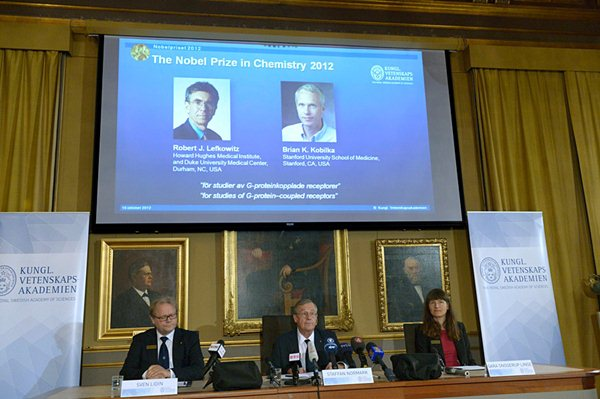 Лауреаты Нобелевской премии по химии 2012