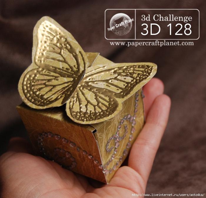 Коробочка своими руками для бабочки 247
