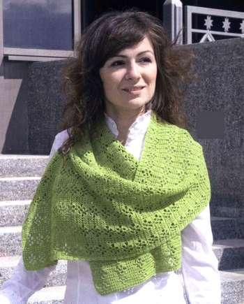 Шарфы крючком фото схемы: как связать красивый шарф крючком, вязаные шарфы из ленточной пряжи.  Кокон и шапочка для...