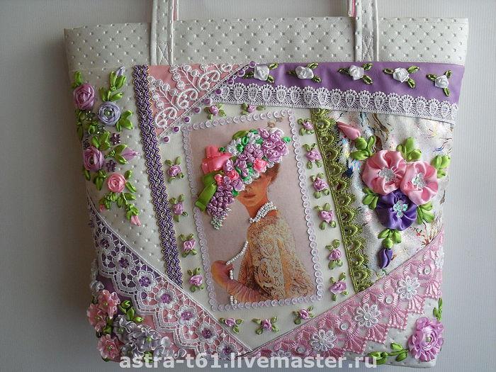 Вышивка сумки своими руками