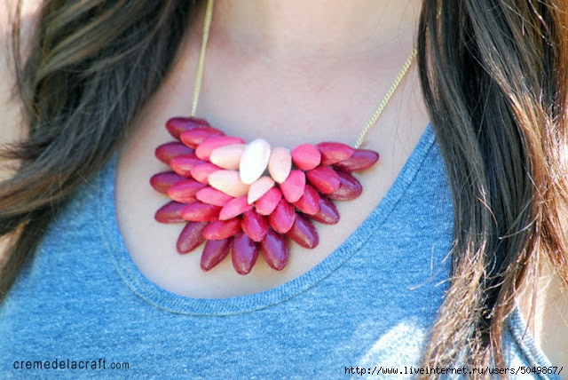 DIY-Project-Idea-Gift-Make-Ombre-Necklace-Jewelry-Pistachio-Shells-Craft-Upcycle (640x428, 228Kb)