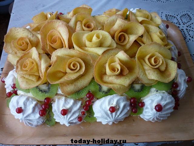 Вкусный лёгкий торт своими руками
