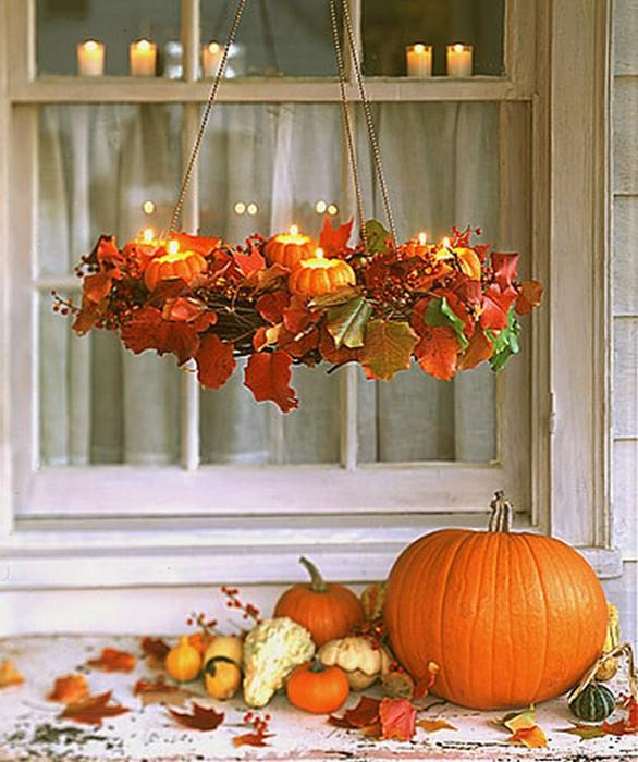 Осеннее декорирование интерьера от Марты Стюарт 12 (586x700, 110Kb)