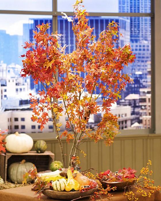 Осеннее декорирование интерьера от Марты Стюарт 14 (560x700, 130Kb)