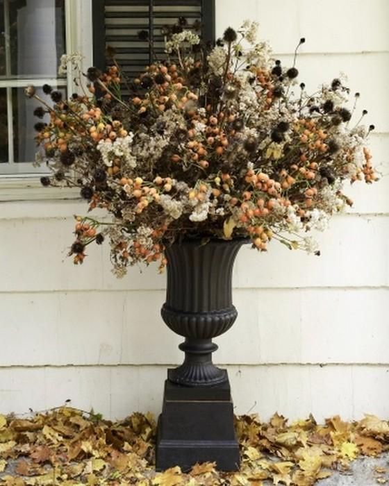 Осеннее декорирование интерьера от Марты Стюарт 27 (560x700, 106Kb)