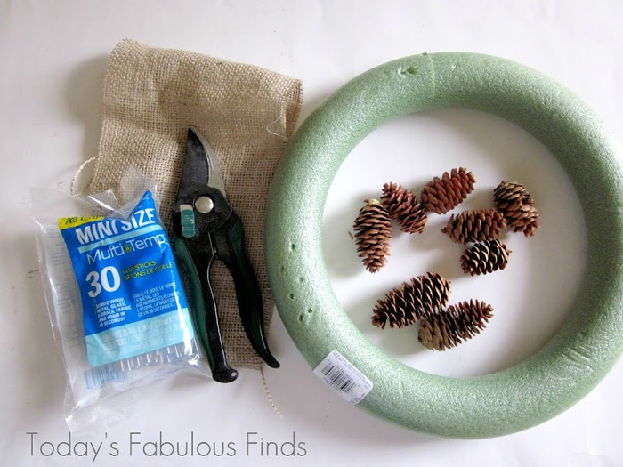 How to make a pine cone wreath_5948r (700x525, 117Kb)