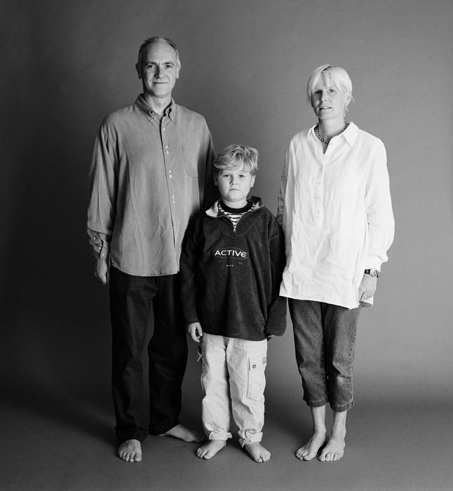 семейные фотографии Zed Nelson 7 (646x700, 225Kb)