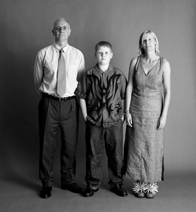 семейные фотографии Zed Nelson 11 (646x700, 247Kb)