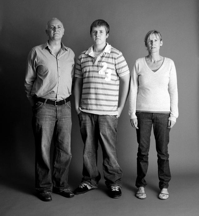 семейные фотографии Zed Nelson 15 (646x700, 252Kb)
