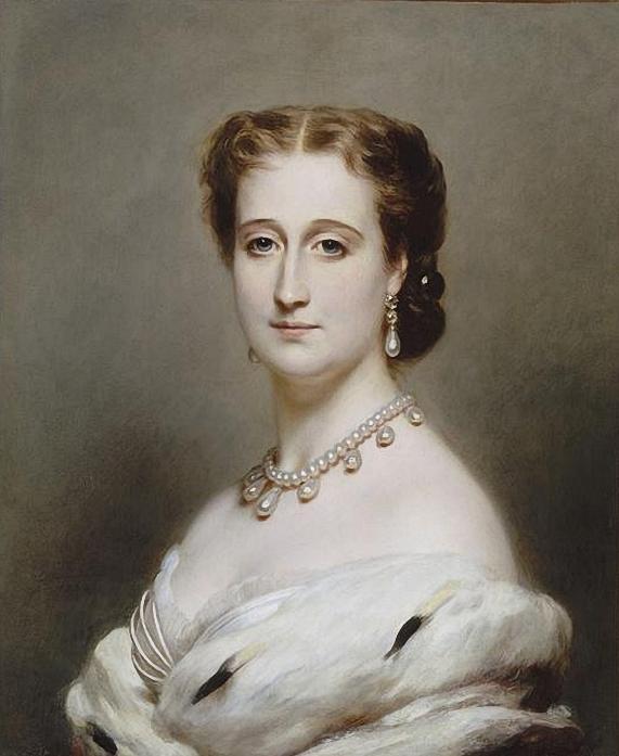 Императрица Евгения - супруга Наполеона III. (571x697, 240Kb)