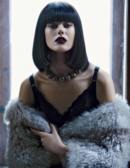 модная фотосессия Frida Gustavsson 2 (541x700, 224Kb)