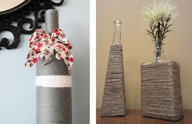 Как украсить вазу для цветов своими руками