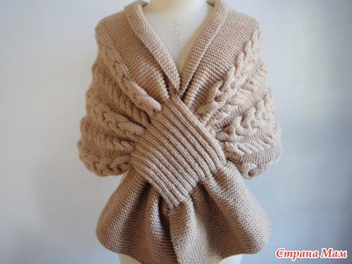 это шарф, накидка или.