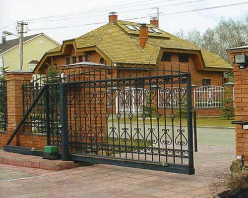 кованые ворота (500x400, 36Kb)