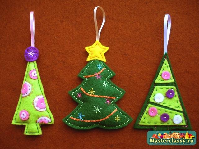 Мастер класс новогодняя игрушка на елку своими руками