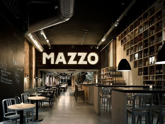 Интерьер итальянского ресторана Mazzo 1 (700x525, 84Kb)