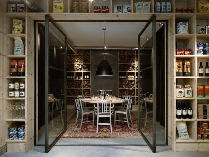 Интерьер итальянского ресторана Mazzo 6 (700x525, 87Kb)