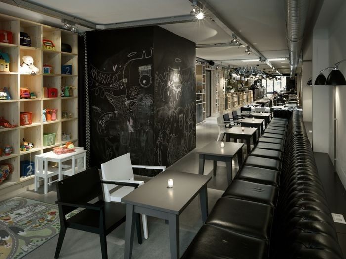 Интерьер итальянского ресторана Mazzo 8 (700x525, 76Kb)