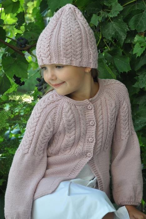 纳塔莉亚的女孩外套和帽子 - maomao - 我随心动