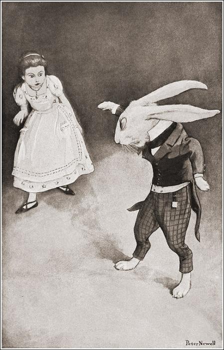 Peter Newell_ Alice_s adventures in Wonderland 6 (449x700, 122Kb)