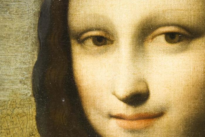 Вторая Мона Лиза  Леонардо да Винчи (700x466, 124Kb)