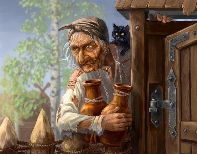 ludli: Сказка о Бабе-Яге