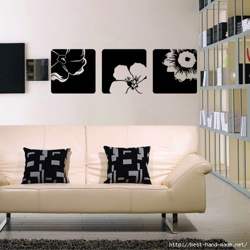 three_flower_square_wall_decals (500x500, 121Kb)