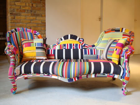 Мебель в стиле пэчворк