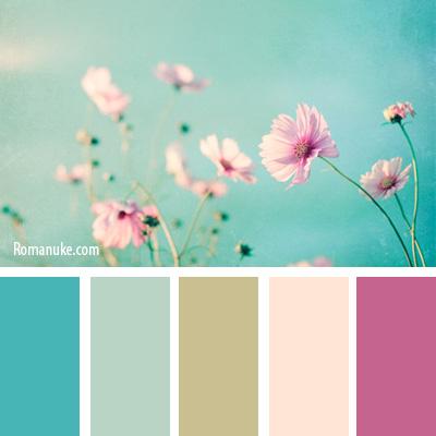 Сочетание цвета с другими цветами в интерьере