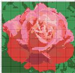 Часть 3 - Схемы вышивок с цветами.