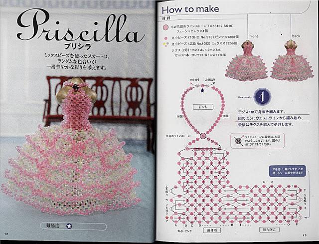 Как сшить платье из бисера