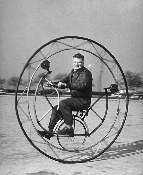 смешные велосипеды ретро-фотографии 4 (572x700, 108Kb)