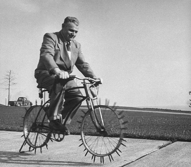 смешные велосипеды ретро-фотографии 7 (670x585, 75Kb)