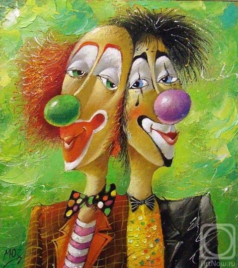 Clowns by Macik Yuri.