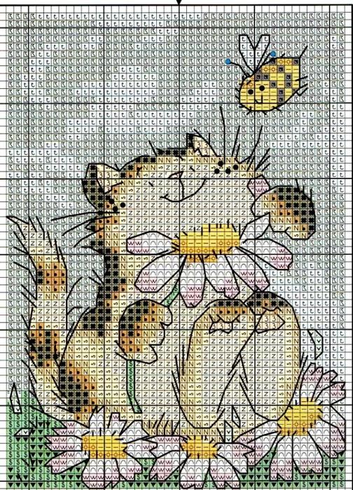 """Источник: """"Cross Stitch Crazy """" 167 -2012.  Схемы для вышивки от Маргарет Шерри.  Прочитать целикомВ."""
