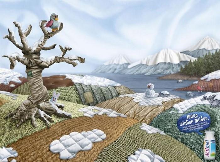 Креативная реклама йогурта - многообразие красок 1 (700x517, 113Kb)