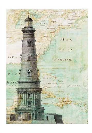 Рисунки на географических картах. 92753105_4829436_il_570xN_353457986_49tq