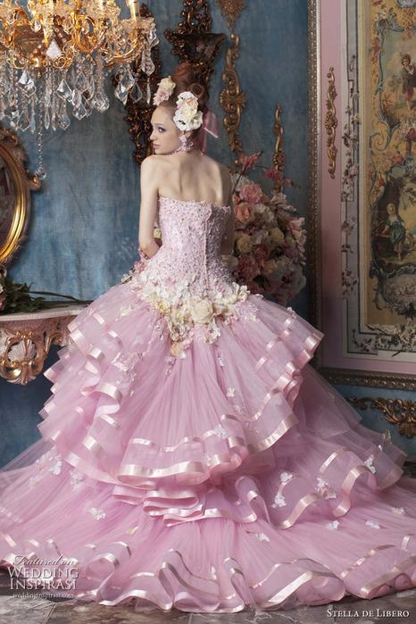 фото вечерних платьев с корсетом
