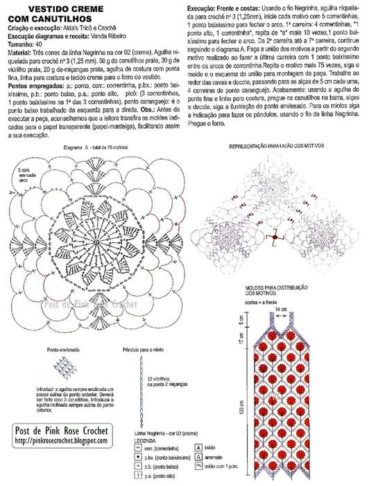 Vestido C de Croche Gr . PRose C (532x700, 229Kb)