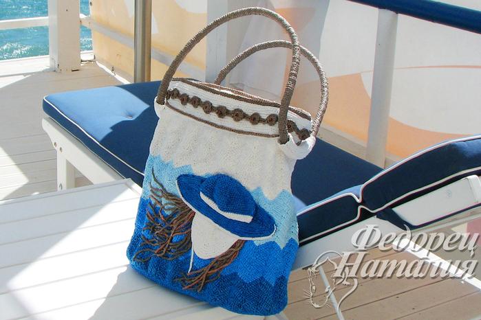 Мужские пляжные сумки своими руками