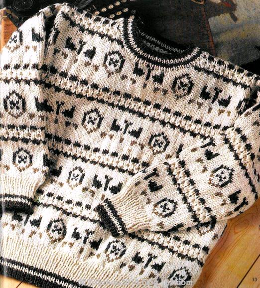 Джемпер мужской вязаный с орнаментом спицами/4683827_20121017_165023 (522x578, 492Kb)