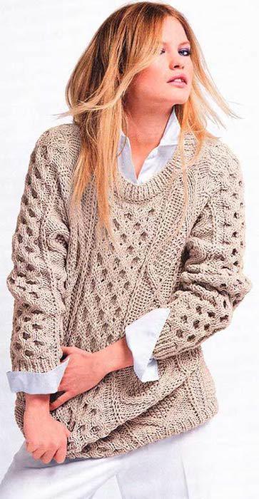 Кардиганы свитера спицами