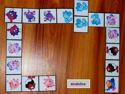 Детское домино своими руками картинки 59