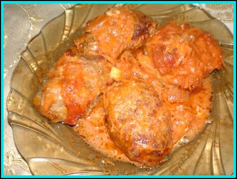 Тефтели мясные в духовке с фото