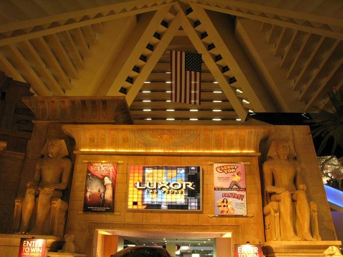 Отель Luxor hotel и Casino, Las Vegas - Пожить в пирамиде. 68808