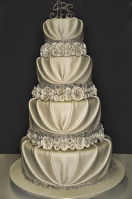Свадебные торты и пирожные
