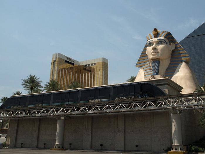 Отель Luxor hotel и Casino, Las Vegas - Пожить в пирамиде. 64537