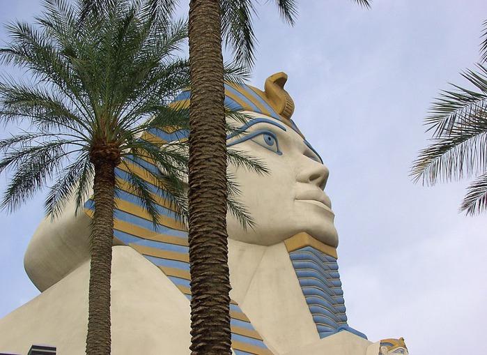 Отель Luxor hotel и Casino, Las Vegas - Пожить в пирамиде. 18874