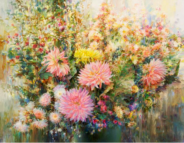 Цветы бабье лето фото